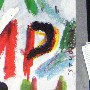 """Large text across poster from top left to bottom right, in red, black, green, grey and orange, which reads: """"CINE/AMERI/NDIA/FILP/ODIUM"""""""