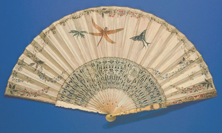 Pleated Fan And Case (France)