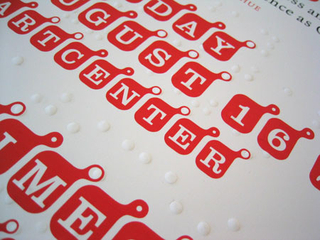 Poster, Touching Graphic Design: A Tactile Reading