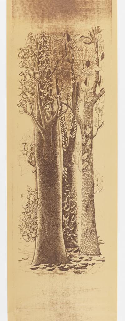 Mural, Trees