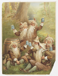 Print, Advertisement for Beer