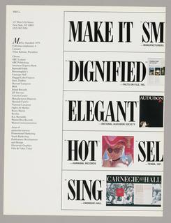 Promotion, M&Co:  Make it...M&Co