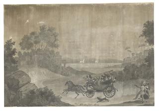 Scenic Panel, The Races