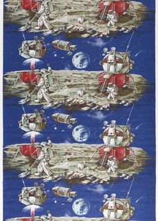 Textile, Moon Landing