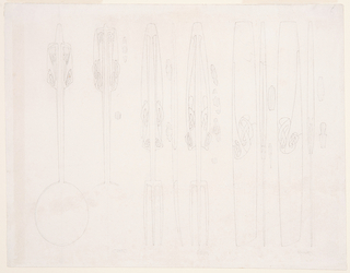 Drawing, Design for Flatware