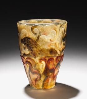 Vase, Lions, 1926