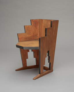 Chair, Skyscraper, ca. 1927–30