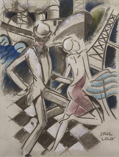 Drawing, Jazz Dancers, ca. 1928