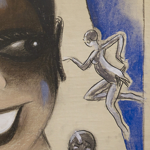 Drawing, Josephine Baker / Columbia, 1930