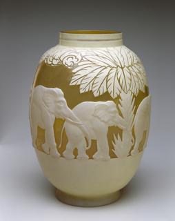 Elephant Vase, 1918–31