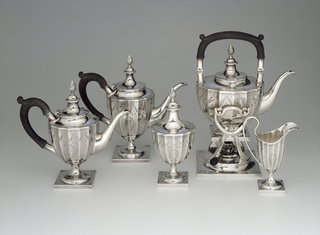 Five-Piece Tea And Coffee Service