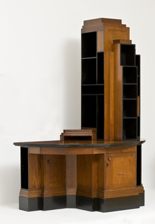 Skyscraper Bookcase Desk, ca. 1928