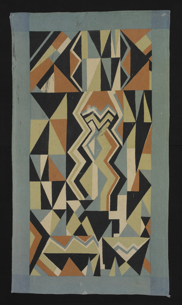 """Coverlet, """"Electric"""" Pattern"""