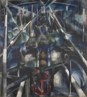 Painting, Brooklyn Bridge, 1919–20