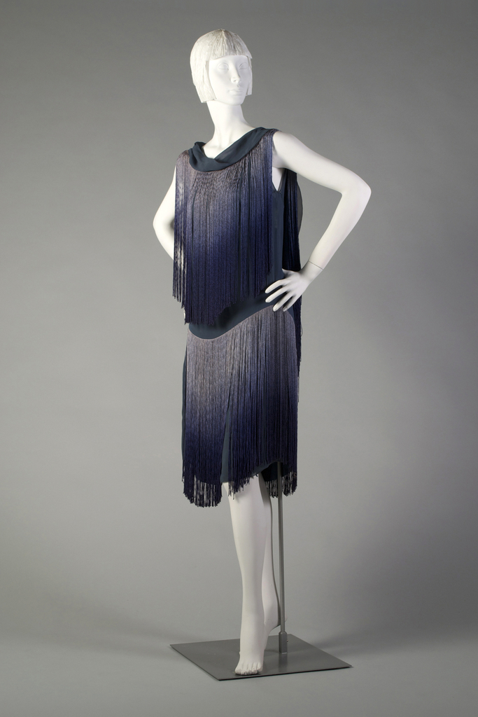 Evening Dress And Underslip, 1926