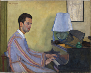George Gershwin at Piano