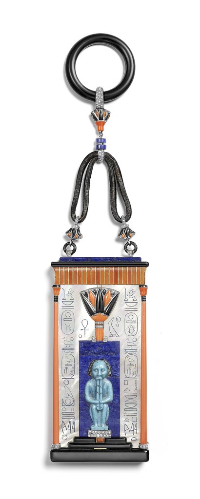 Vanity Case, Egyptian, 1924