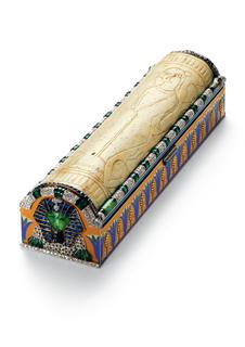 Vanity Case, Egyptian Sarcophagus