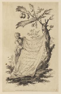 """Print, Title Page, """"Recueil de Plusieurs Jeux d'Enfants Chinois"""", 1759"""