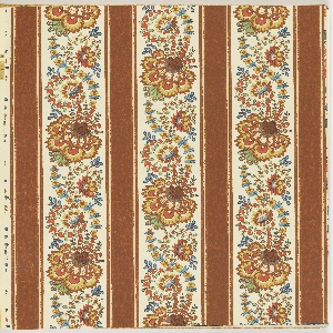 These designs are based on objects within the Smithsonian Institution collections.  Each design is shown in mulfiple colorways, with matching fabric swatches.