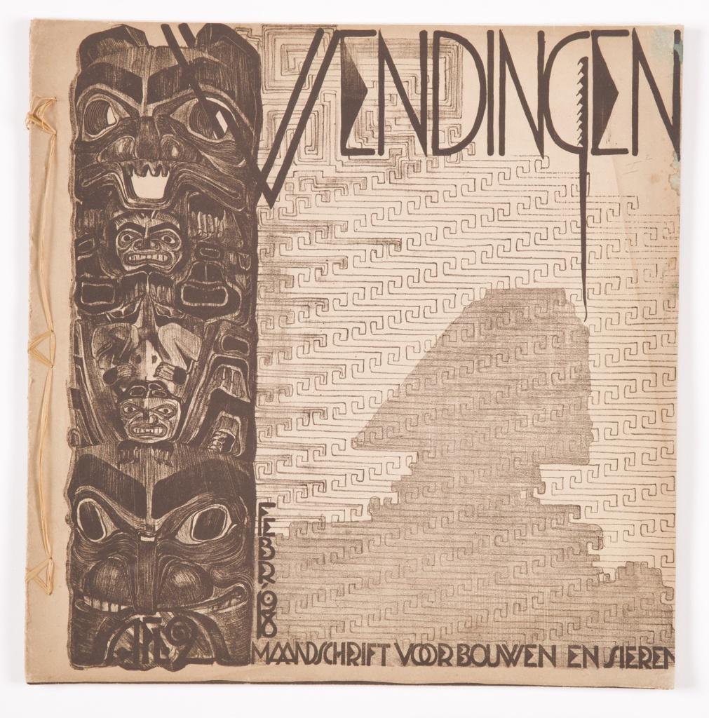 Book, Wendingen: maandblad voor bouwen en sieren, Vol. 1, No. 2