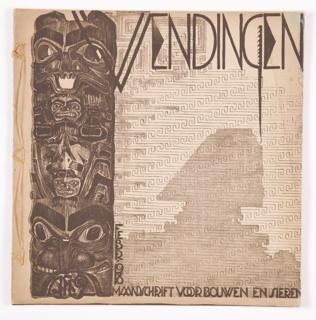 Book, Wendingen: maandblad voor bouwen en sieren, Vol. 1, No. 2, 1918