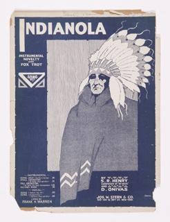 Sheet Music, Indianola, ca. 1918