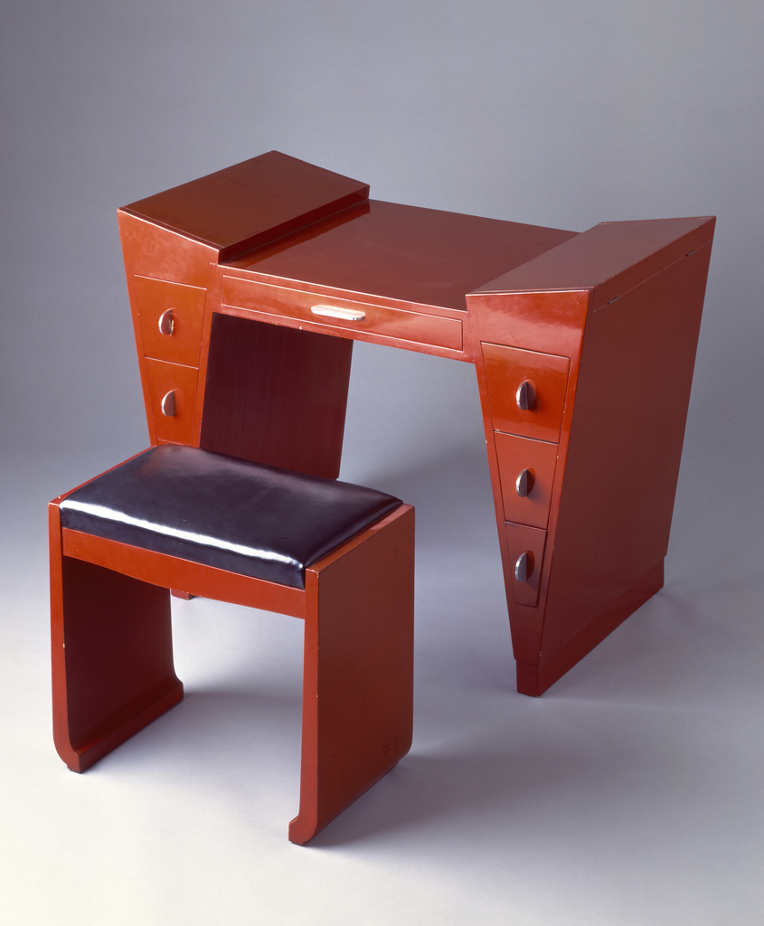 Dressing Table And Bench (USA)