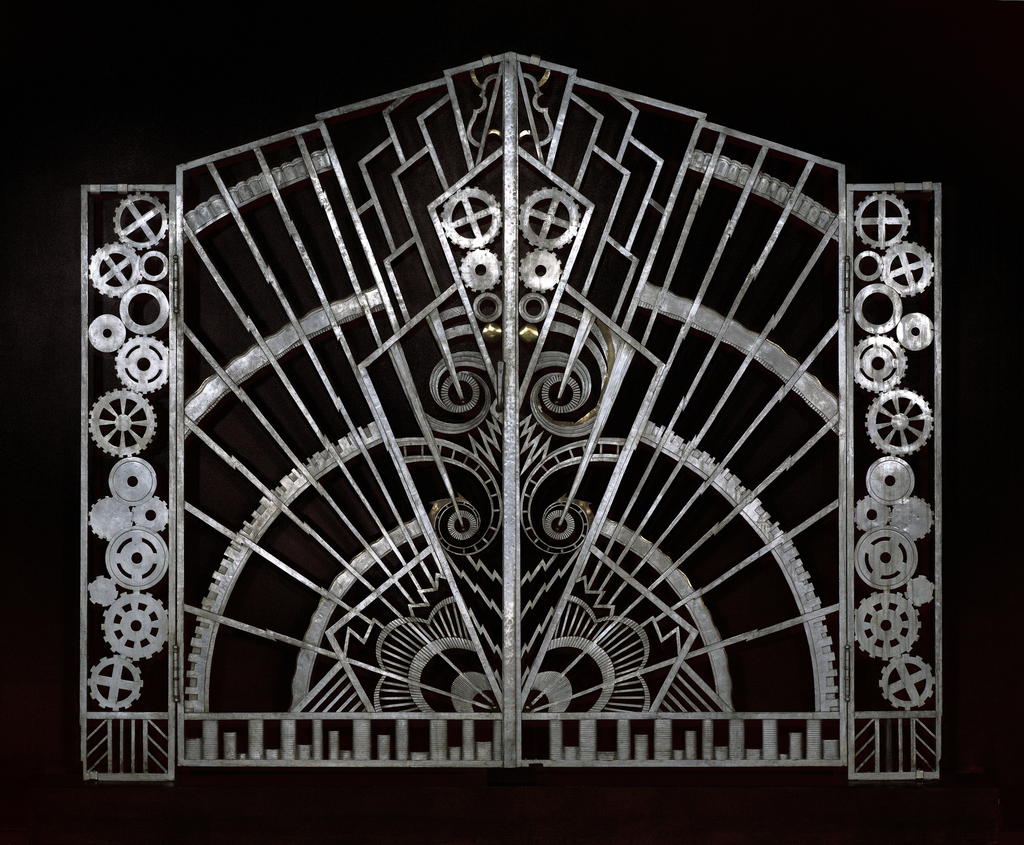 Chanin Building Pair Of Gates