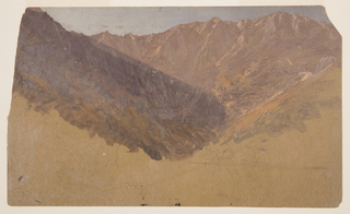Drawing, Study of the Great Basin,  Mt. Katahdin, 1860–70