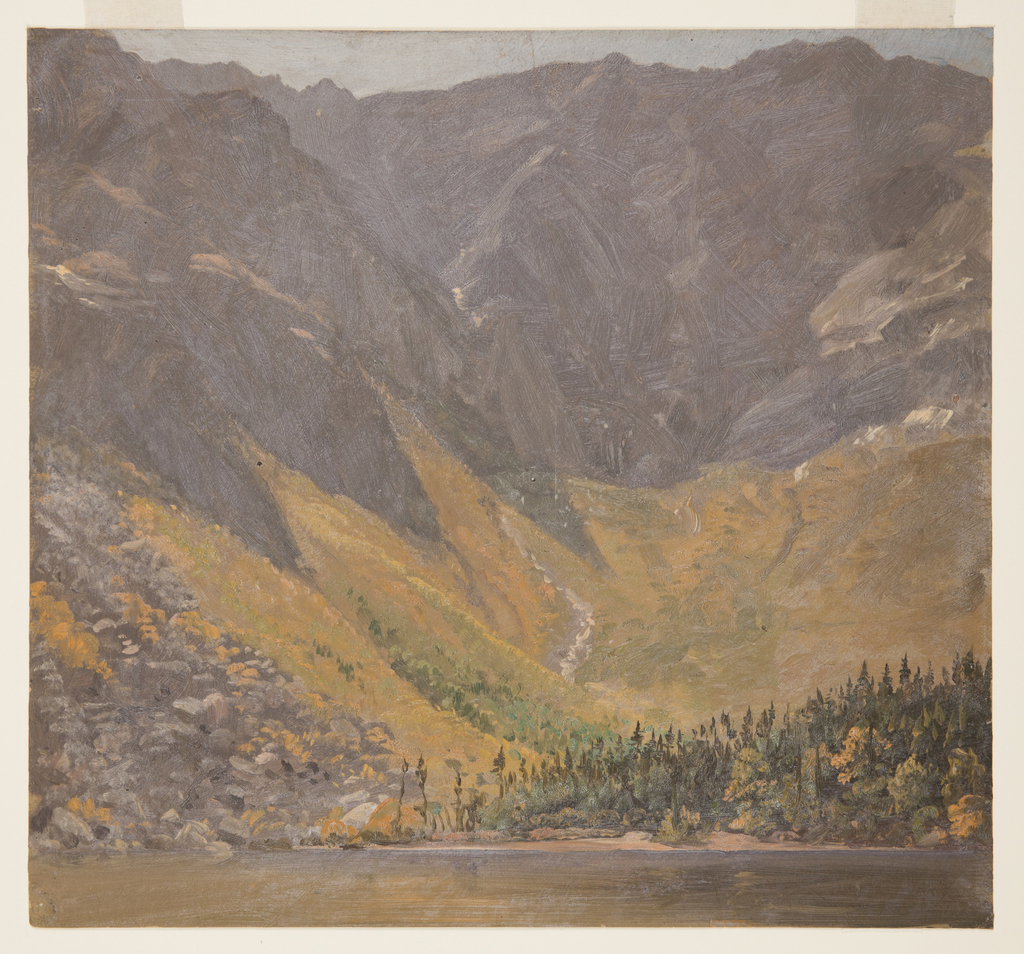 Drawing, Great Basin, Mount Katahdin, Maine
