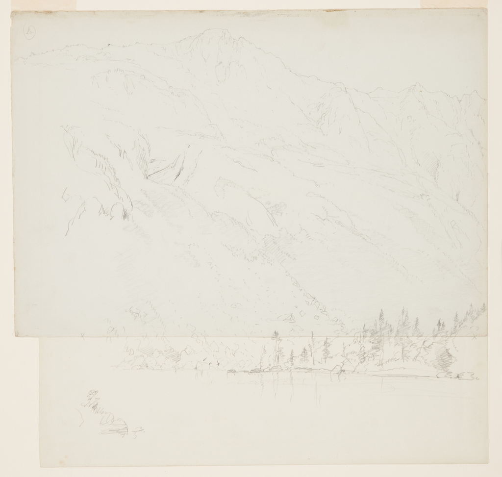 Drawing, Mt. Katahdin, Maine, 1870–78