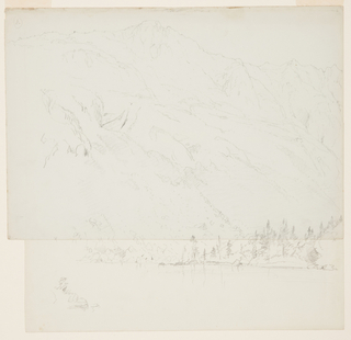Drawing, Mt. Katadhin, Maine, 1870–78