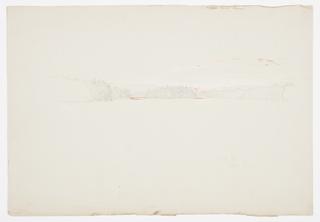 Drawing, Upper Tongue Lake, October 1, 1879