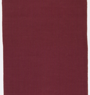 Chenille fabric in an overall plum color. Intended use upholstery.