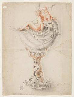 Drawing, Design for a Fantastic Goblet