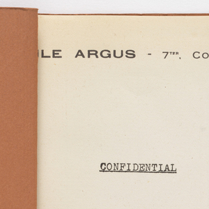 Sample Book (France), 1938