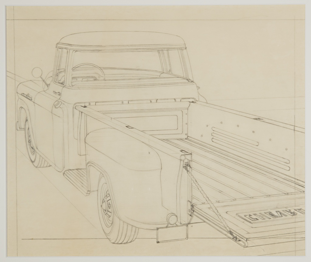 drawing design for chevrolet truck 1934 39 objects collection
