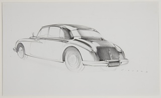 Drawing, Packard Concept Car