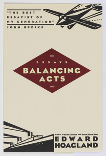 Book Cover, Balancing Acts