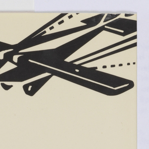 "Book jacket design for a collection of essays, ""Balancing Acts."" On pale yellow ground, a red horizontal diamond at center with the book's title in pale yellow text. At upper right, a stylized airplane rendered in heavy black lines, dotted lines from each wing indicating motion. Printed black text at upper left. At lower left, a stylized ship rendered in heavy black lines, contrasting lines from the boat's three chimneys at an angle to the left. Printed black text at lower right."