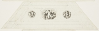 Drawing, Prudence, Vaulted Panel, Appartmento Napoleonico, Palazzo Quirinale, Rome