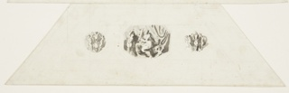 Drawing, Abundance, Vaulted Panel, Sala d'onore, Appartmento Napoleonico, Palazzo Quirinale, Rome