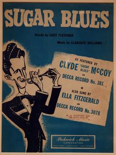 Sheet Music, Sugar Blues, 1949
