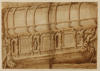 Drawing, Ship, ca. 1600