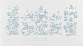 Mural Miniature, The Pomegranate Tree