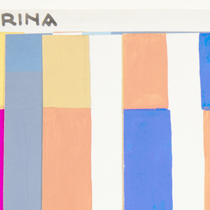 Drawing, Textile Design: Arina