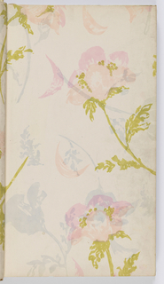 Sample Book, The Comprehensive Collection of Floral and Textured Wallpaper