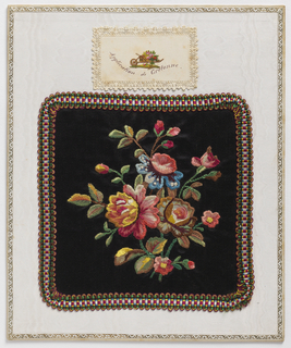 Sewing Sample (France), late 19th century