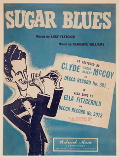 Sheet Music, Sugar Blues, 1949